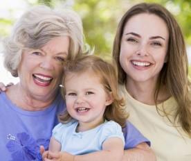 Gleuckliche Familie